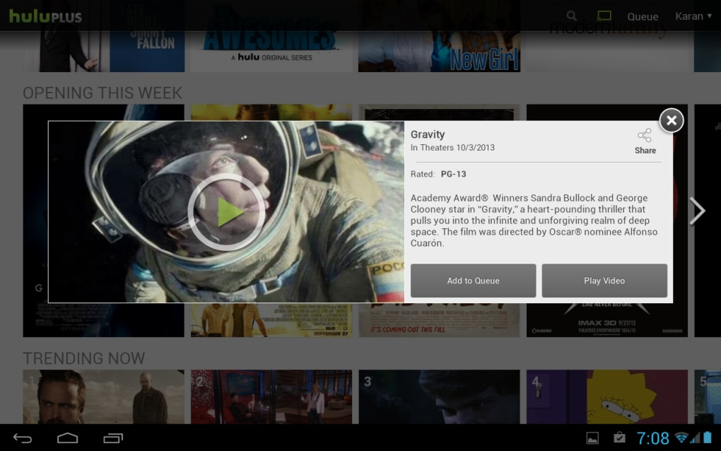 Hulu Plus for Android - Download