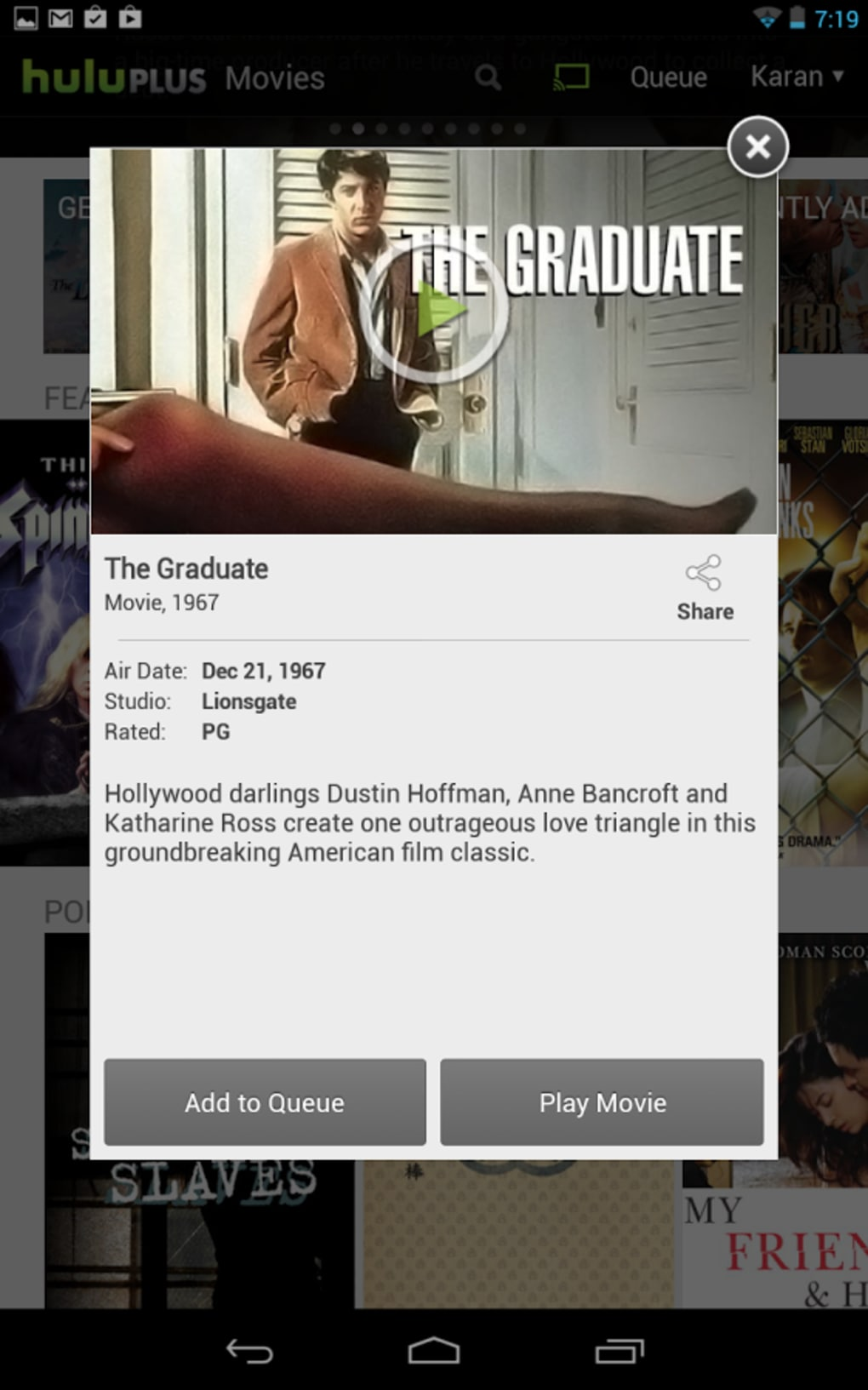 Download hulu plus for android