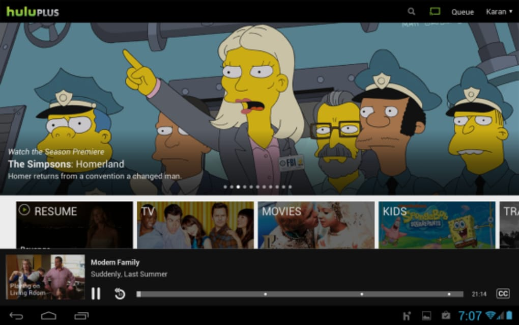 can you download shows on hulu app