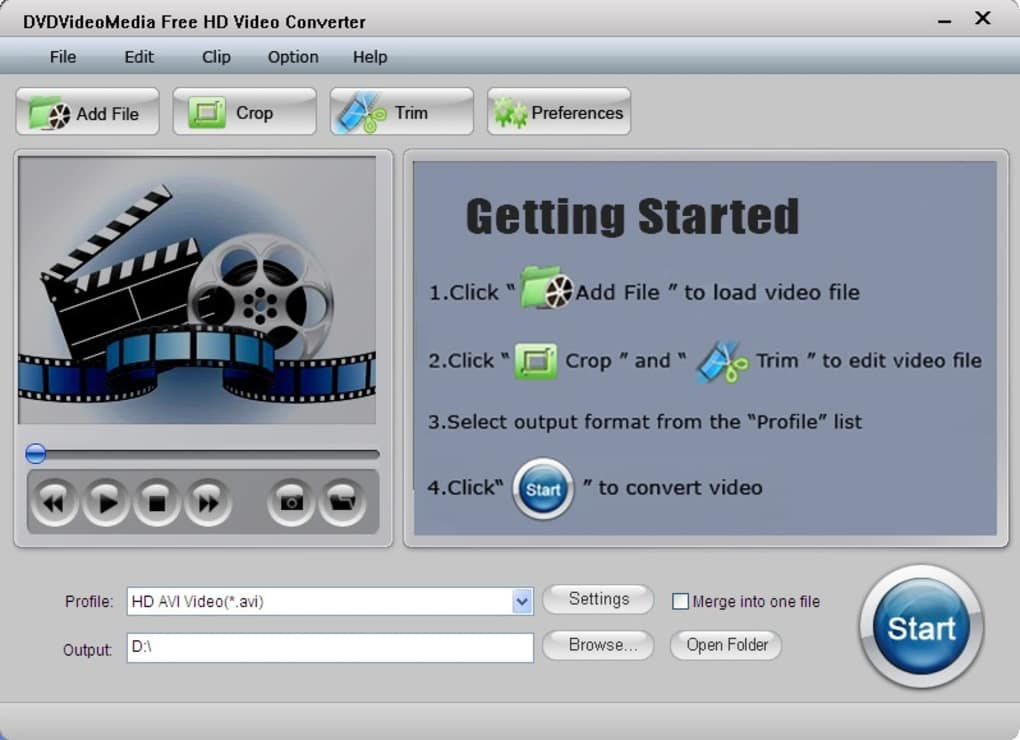 480p video converter free download