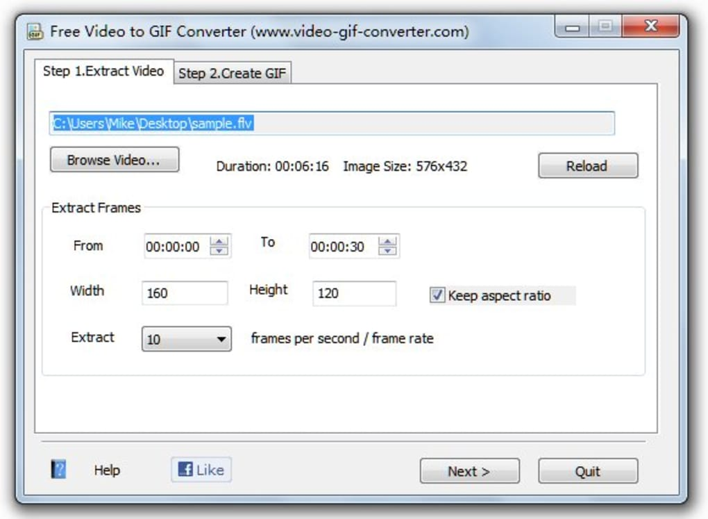 Free Video to GIF Converter - Download