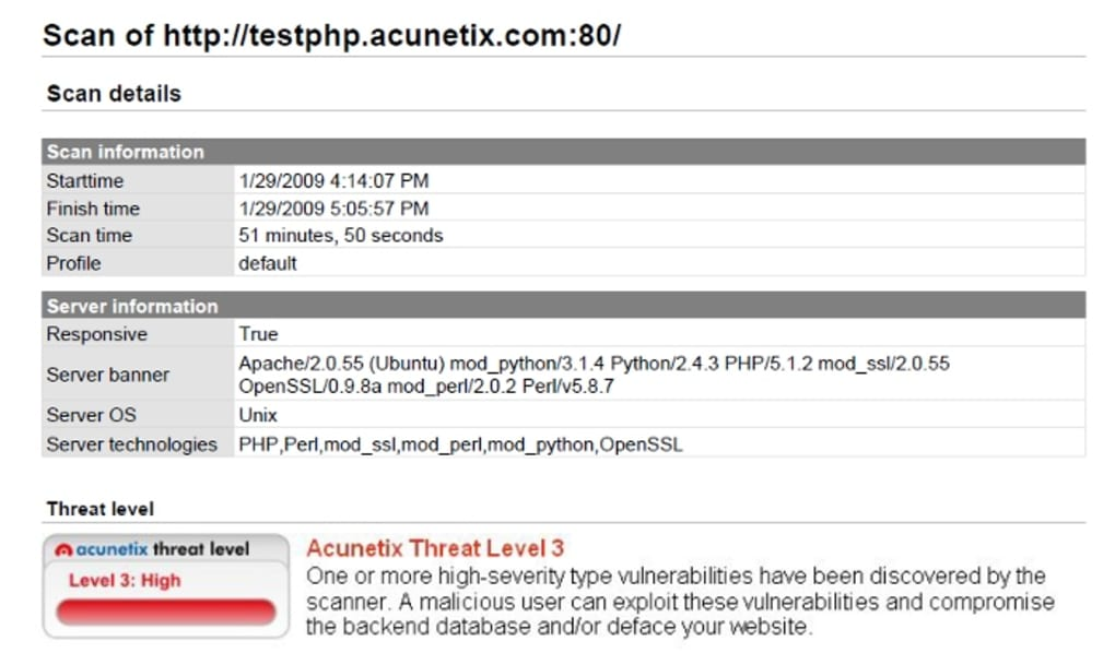 Acunetix Web Vulnerability Scanner - Download