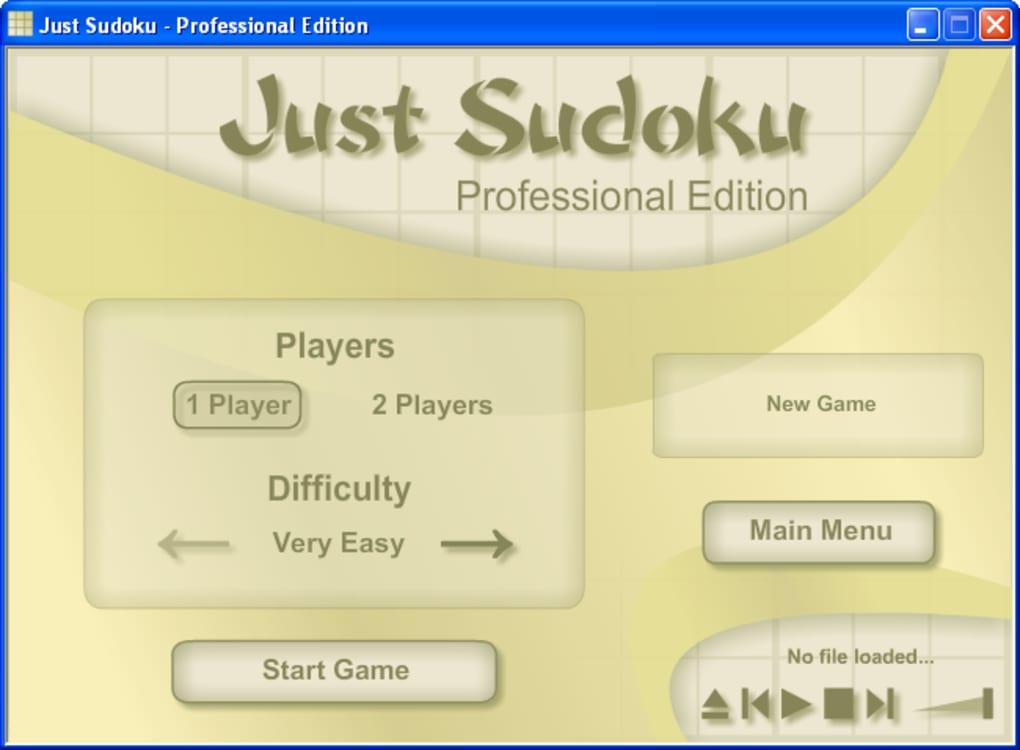 just sudoku download