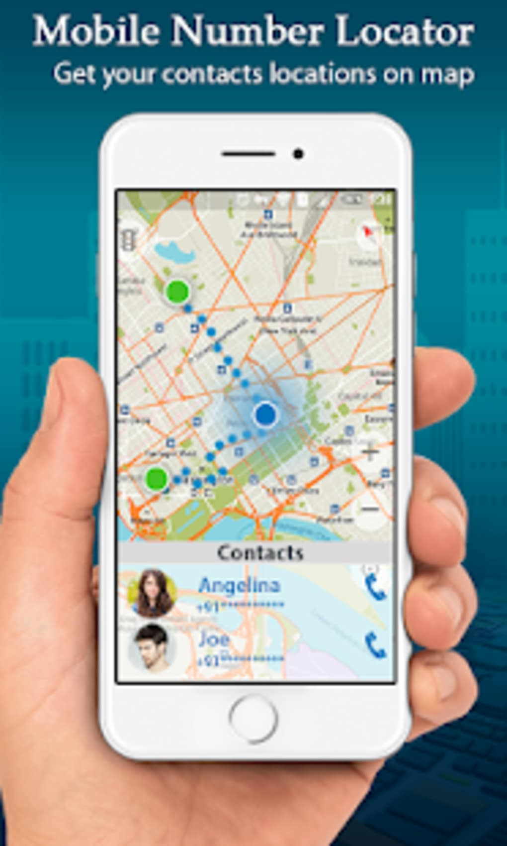 GPS Phone Tracker Number Locator Mobile Tracking for Android - Download