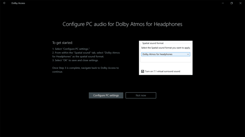Dolby Access - Download