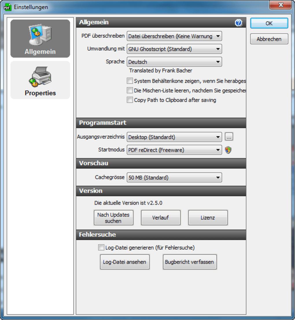 Pdf Erstellen Und Zusammenfugen Freeware
