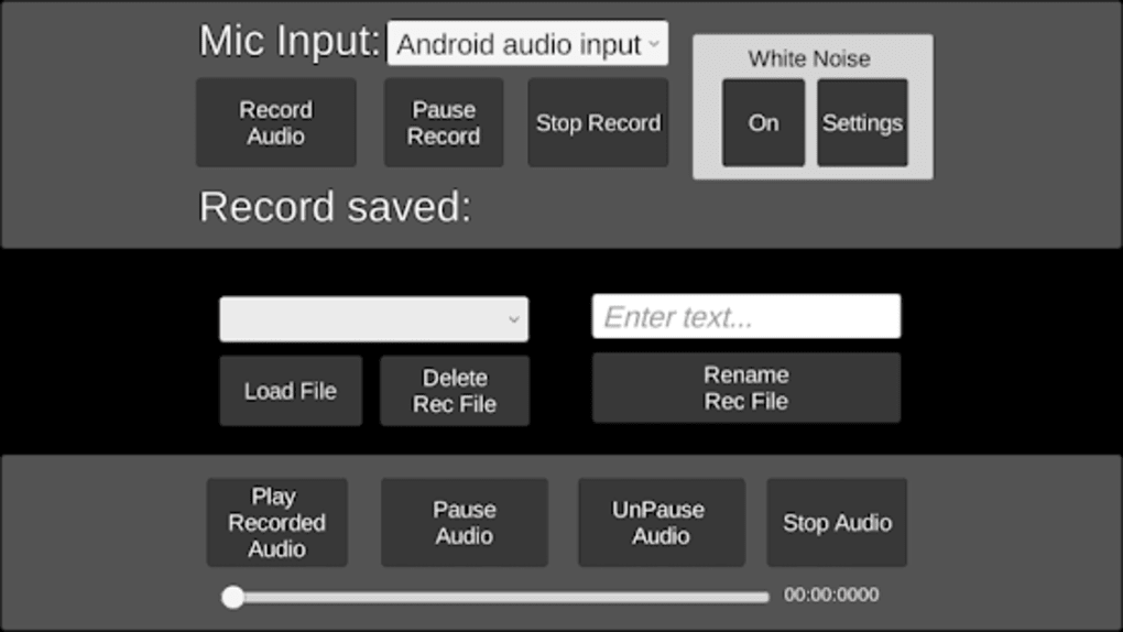 White Noise EVP Recorder for Android - Download