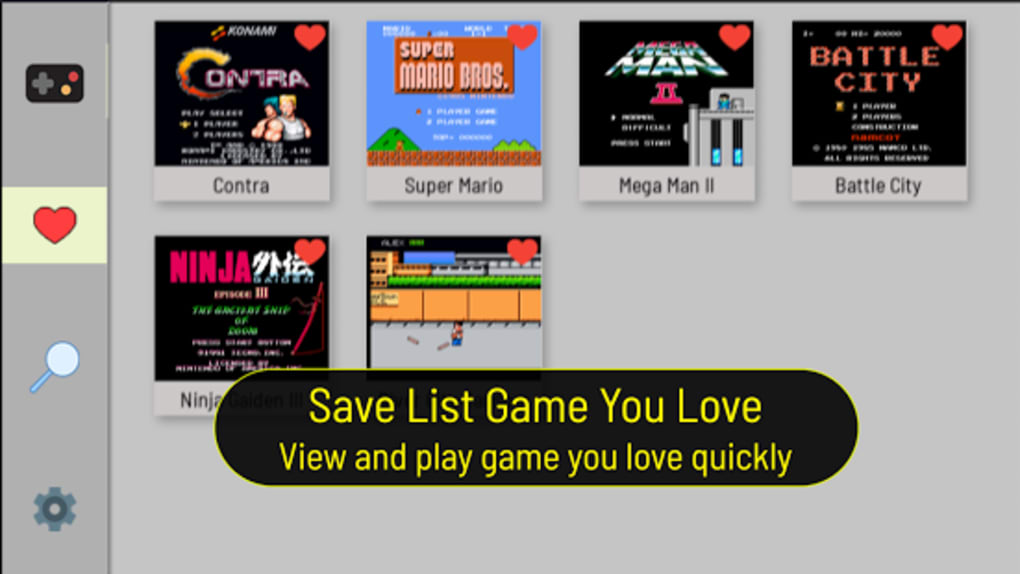 NES Emulator Full Game and Free Best Emulator for Android - Download