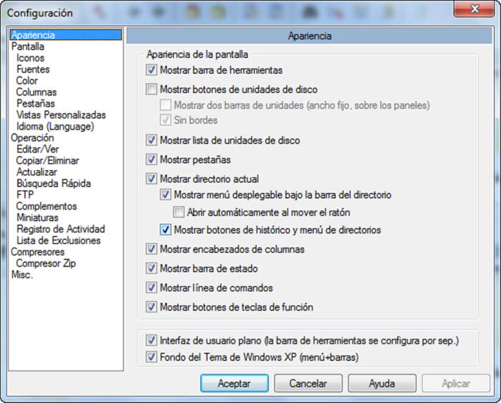 descargar total commander full gratis en español