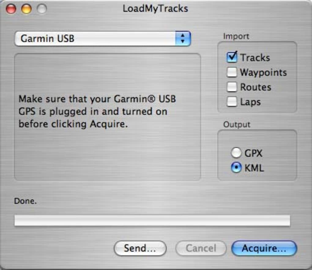 LoadMyTracks for Mac - Download