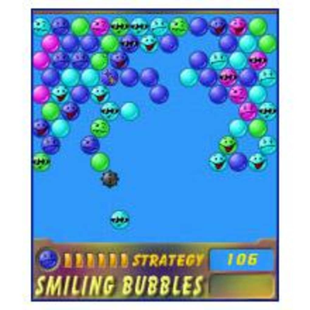 Bubbles Abschießen