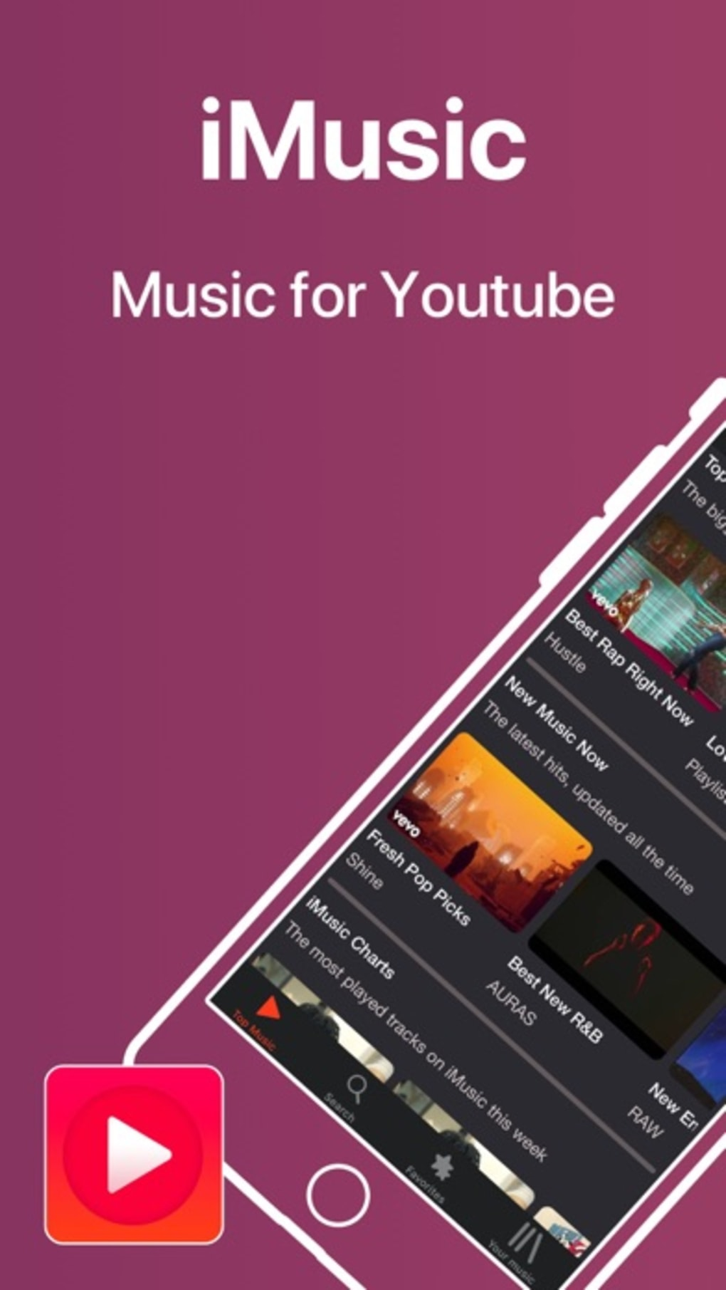 iMusic - Music Video Player for iPhone - Download