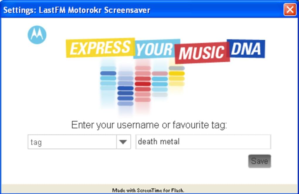 Music Quilt Screensaver