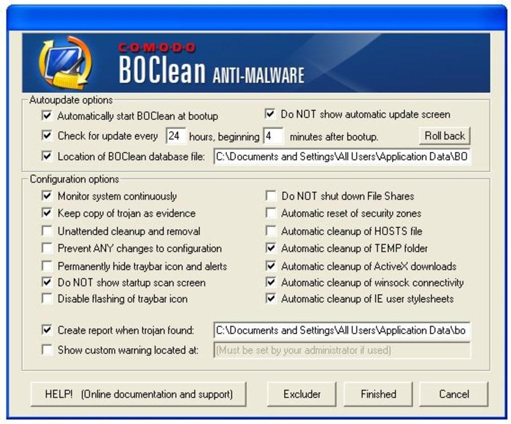 Comodo BOClean - Download
