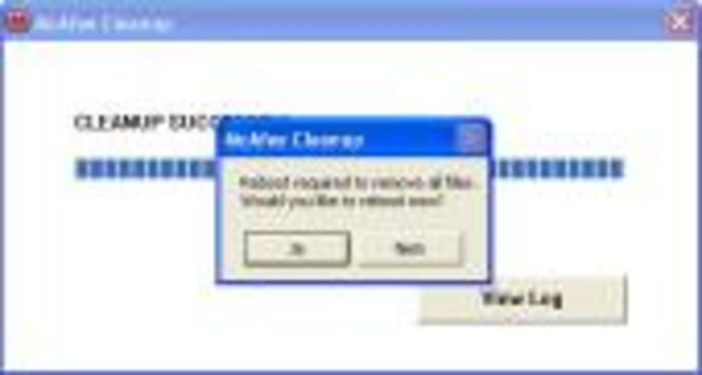 Mcafee computer virus remover tools review.