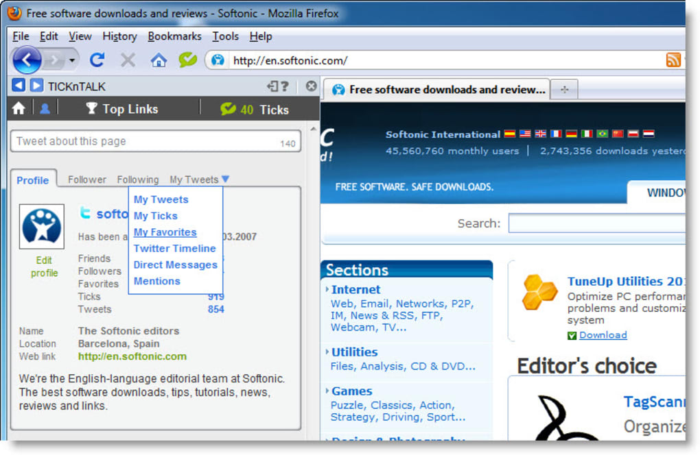 TICKnTALK for Firefox - Download