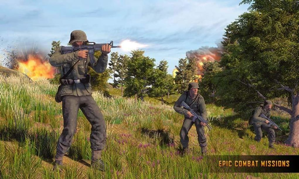 WW2 US Army Commando Survival Battlegrounds for Android