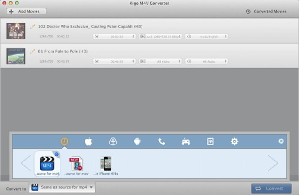 how to convert m4v files to mp4 on mac