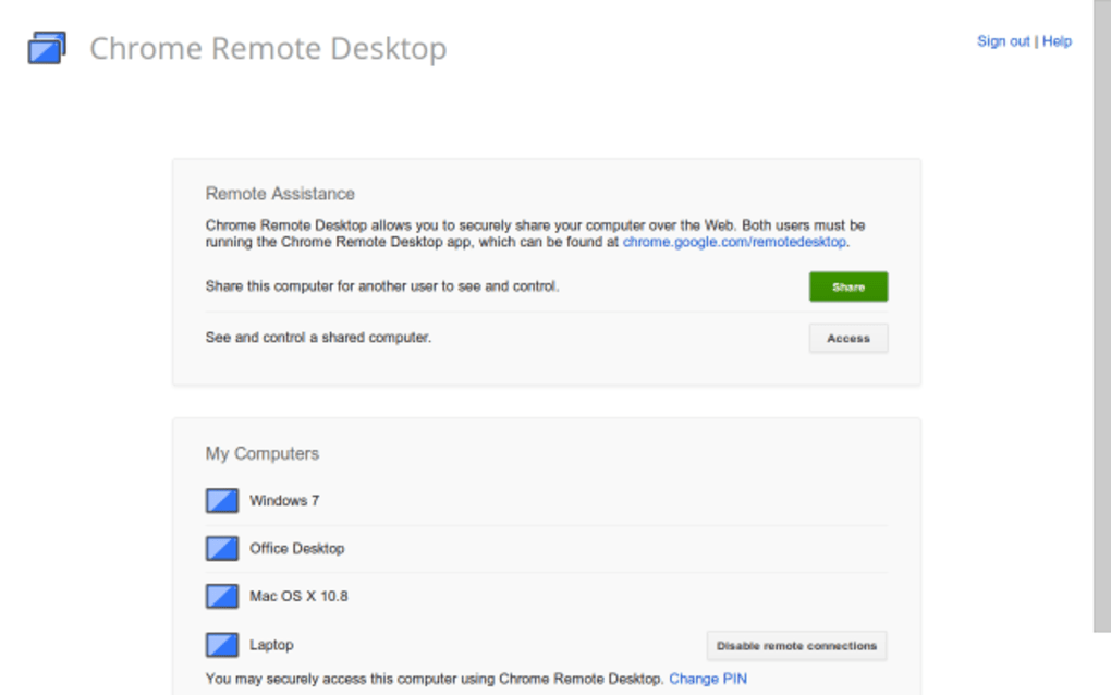 Chrome Remote Desktop for Mac - Download