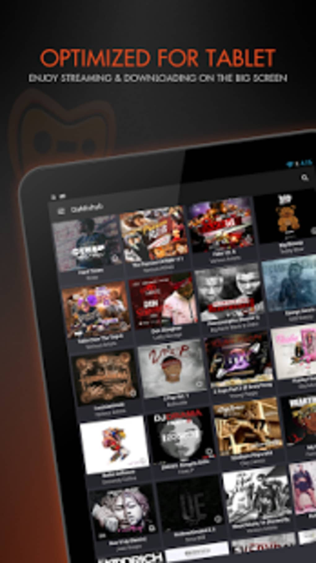DaMixhub Hip-Hop & Mixtapes for Android - Download