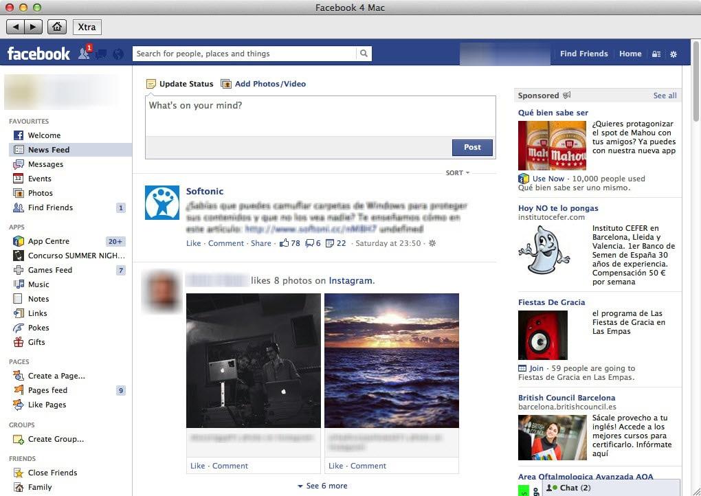 facebook pour mac os x 10.4.11