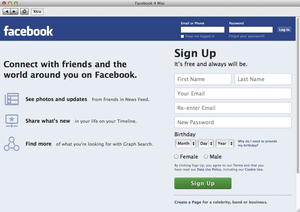 Facebook chat 1. 0 for mac free download.
