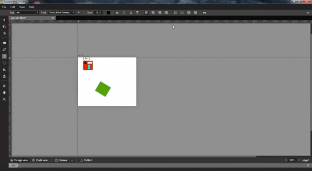 Google Web Designer For Mac Download