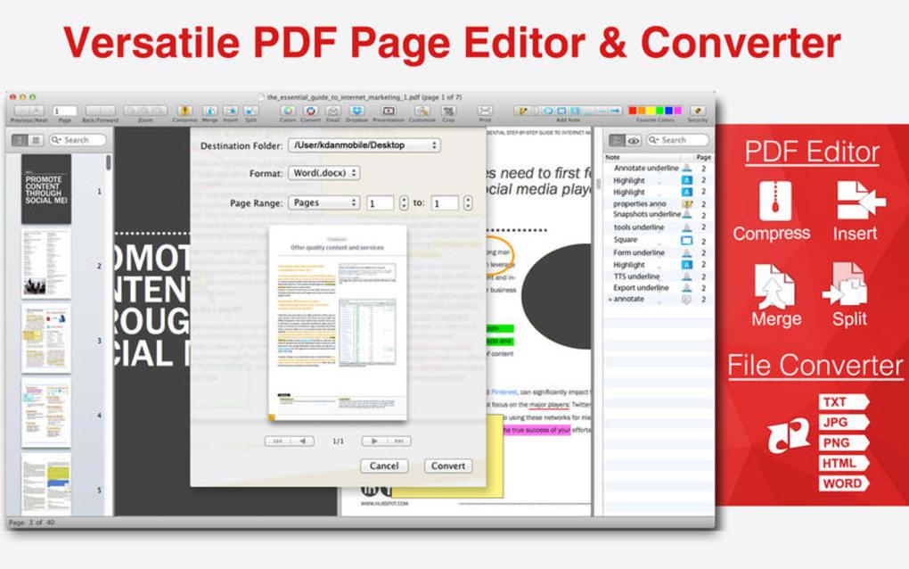 pdf free download for mac