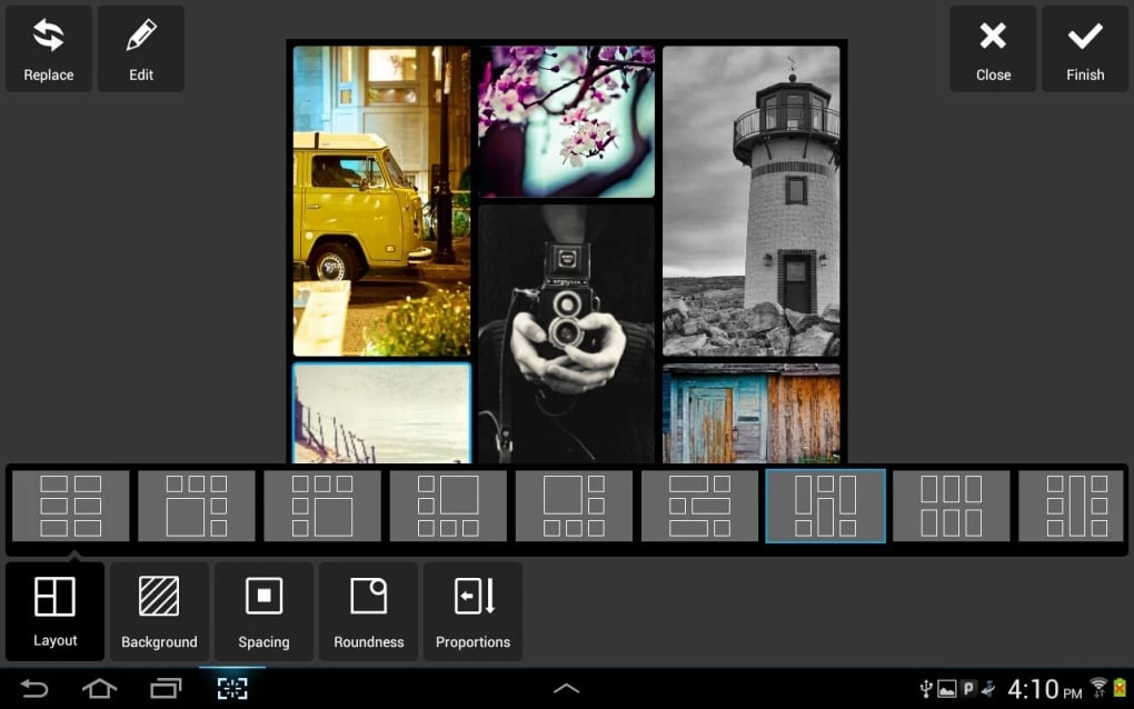 Filters, effects and stickers for high quality photo editing