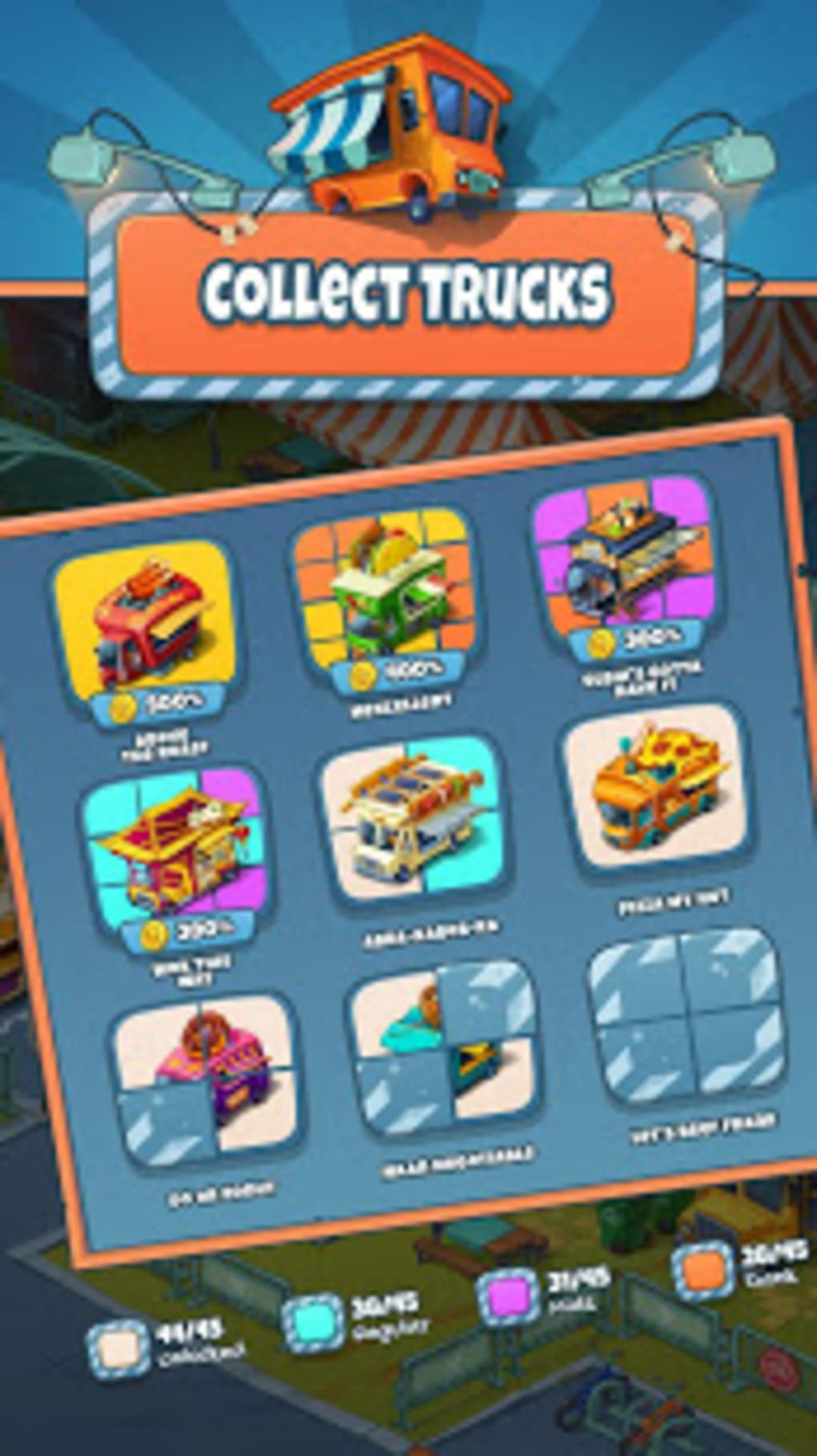 Idle Food Truck Tycoon for Android - Download
