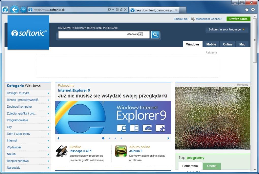 Internet Explorer 9 - Download