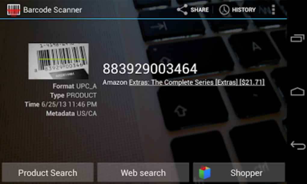 Barcode Scanner - video dailymotion