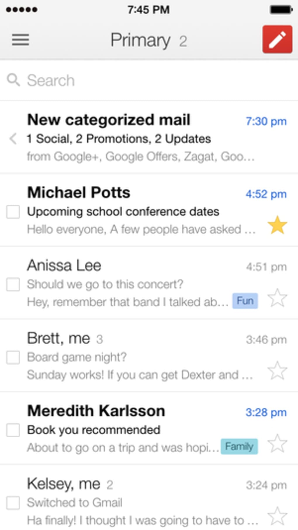 how to delete email inbox on iphone 6