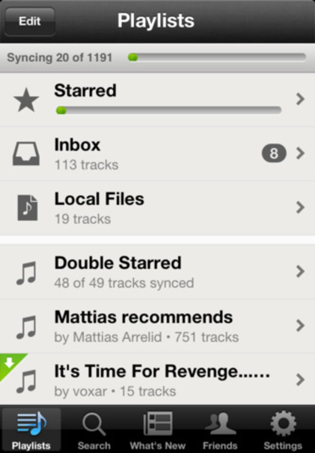 Spotify for iOS 4 for iPhone - Download