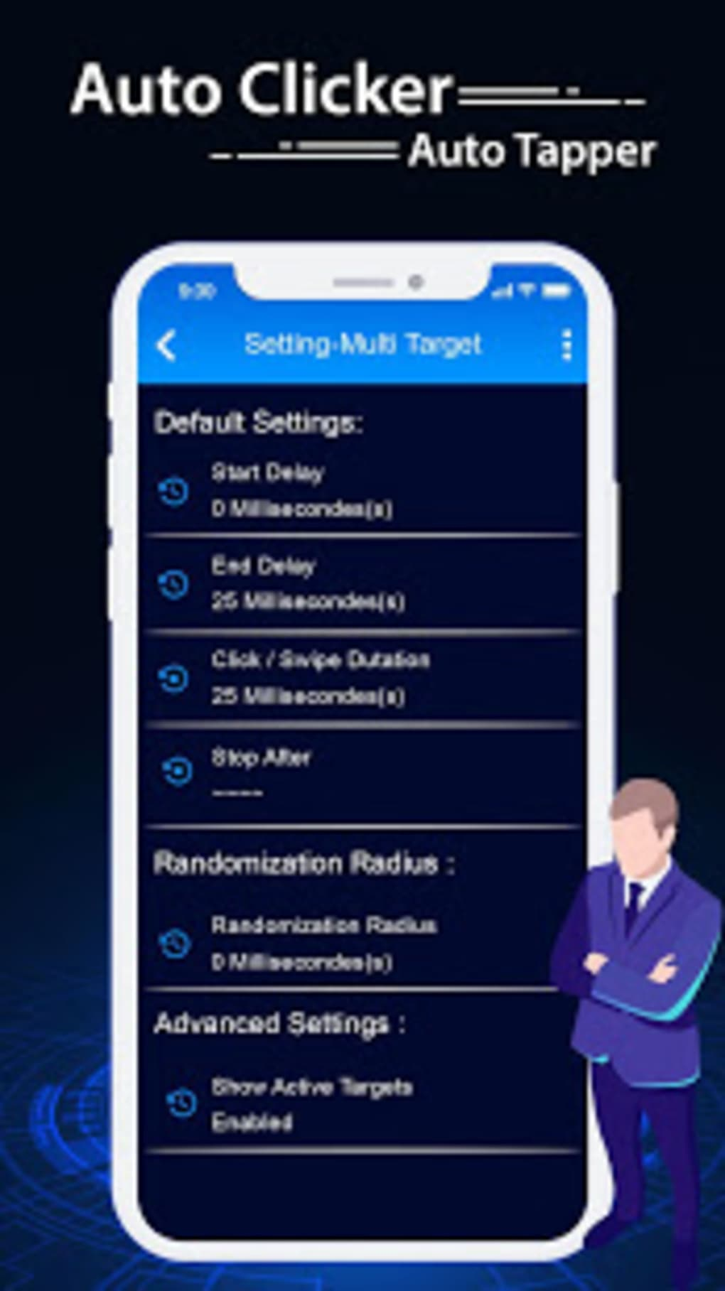 Auto Clicker - Automatic Tapper for Android - Download