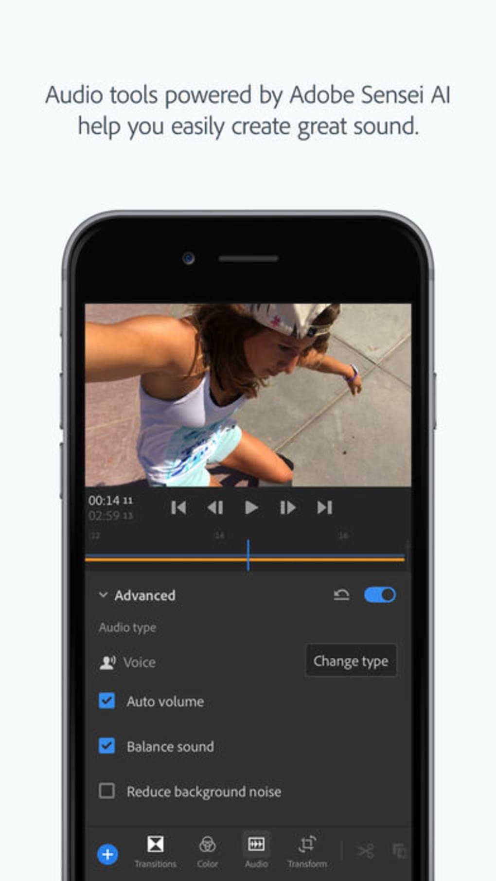Adobe Premiere Rush Cc Für Iphone Download