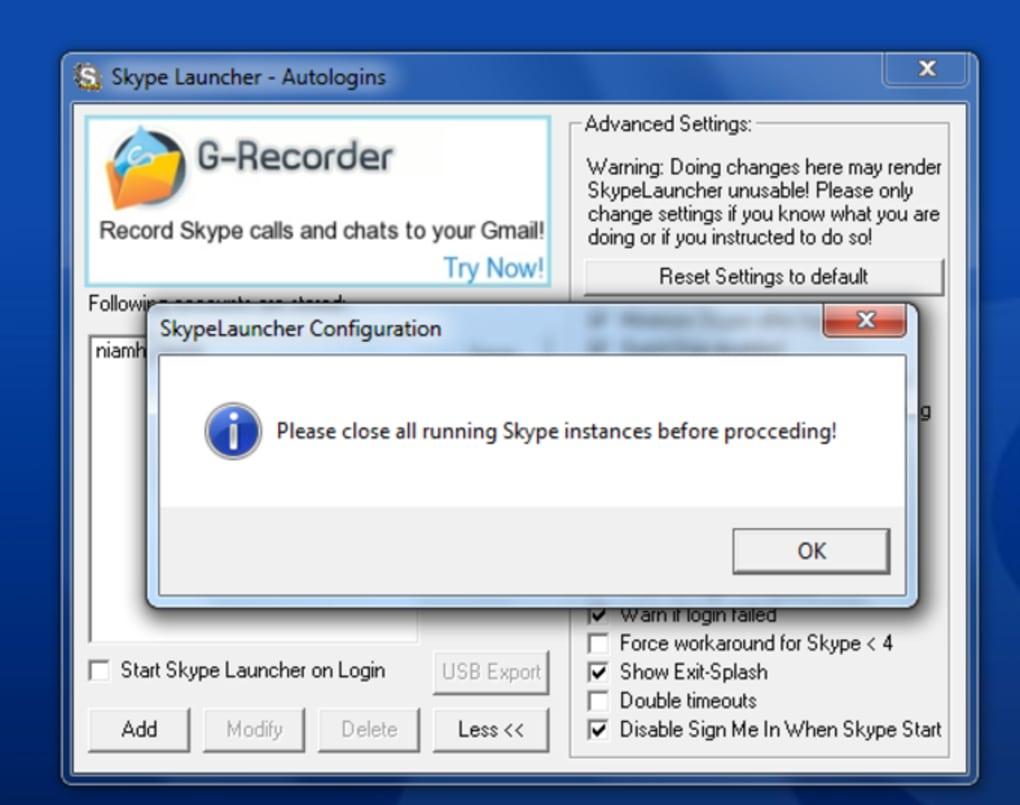 SkypeLauncher - Download