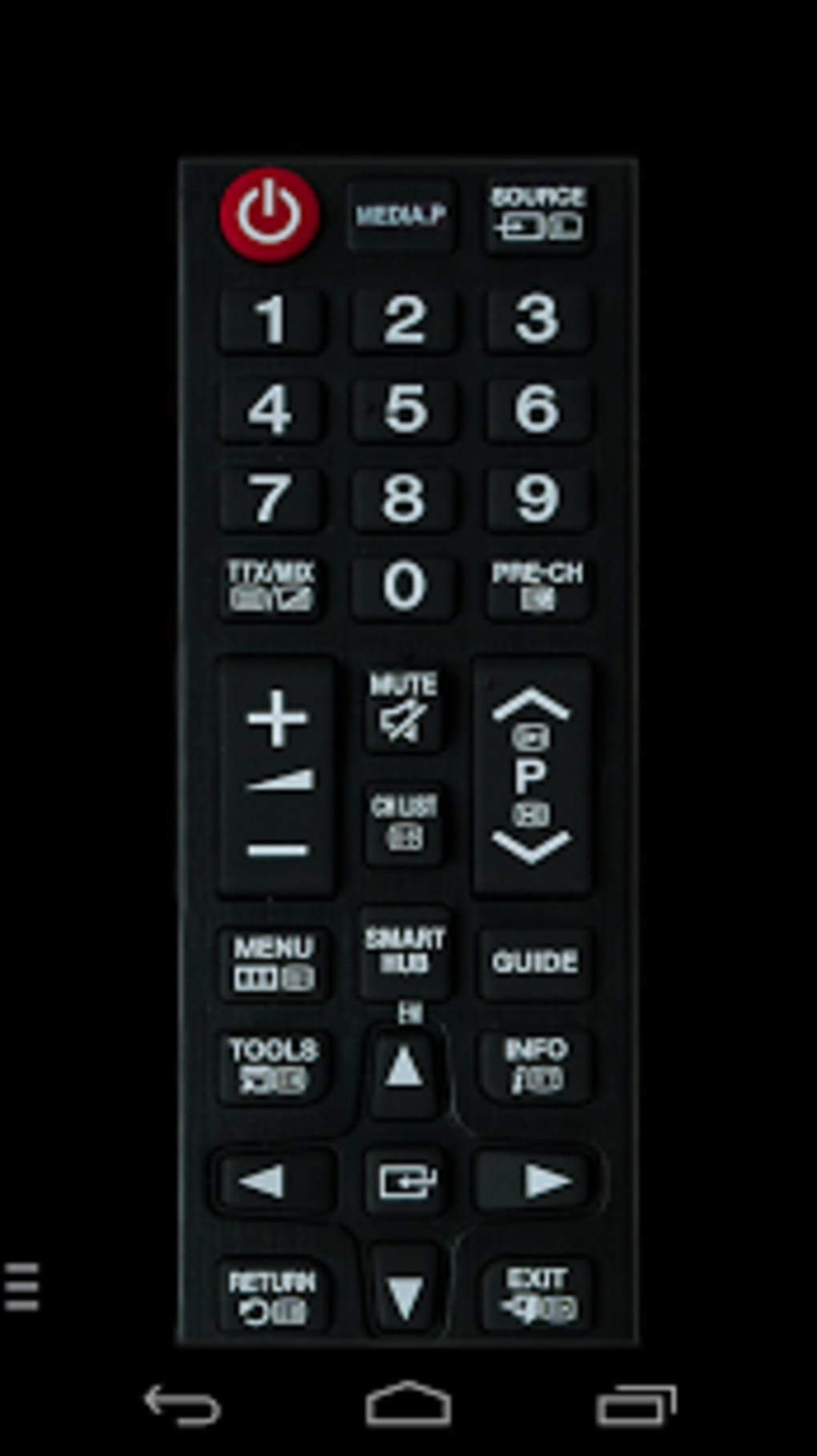 tv samsung remote control for android download. Black Bedroom Furniture Sets. Home Design Ideas