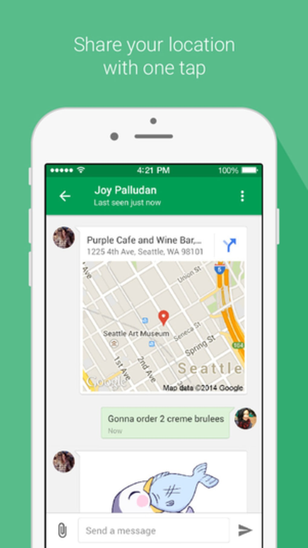 Hangouts for iPhone - Download