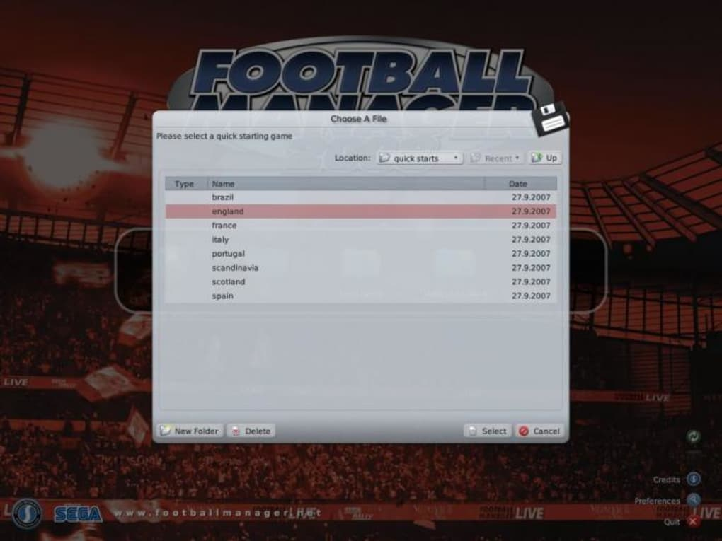 Championship Manager 2008 Full ISO [PC version]