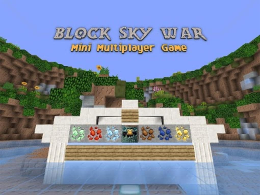 Block Sky War : Mini Game