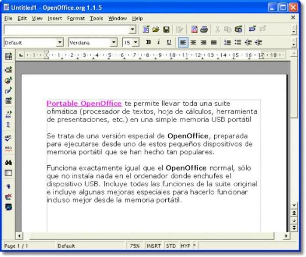 Dorable Reanudar Descarga De Formato Para Openoffice Molde - Ejemplo ...