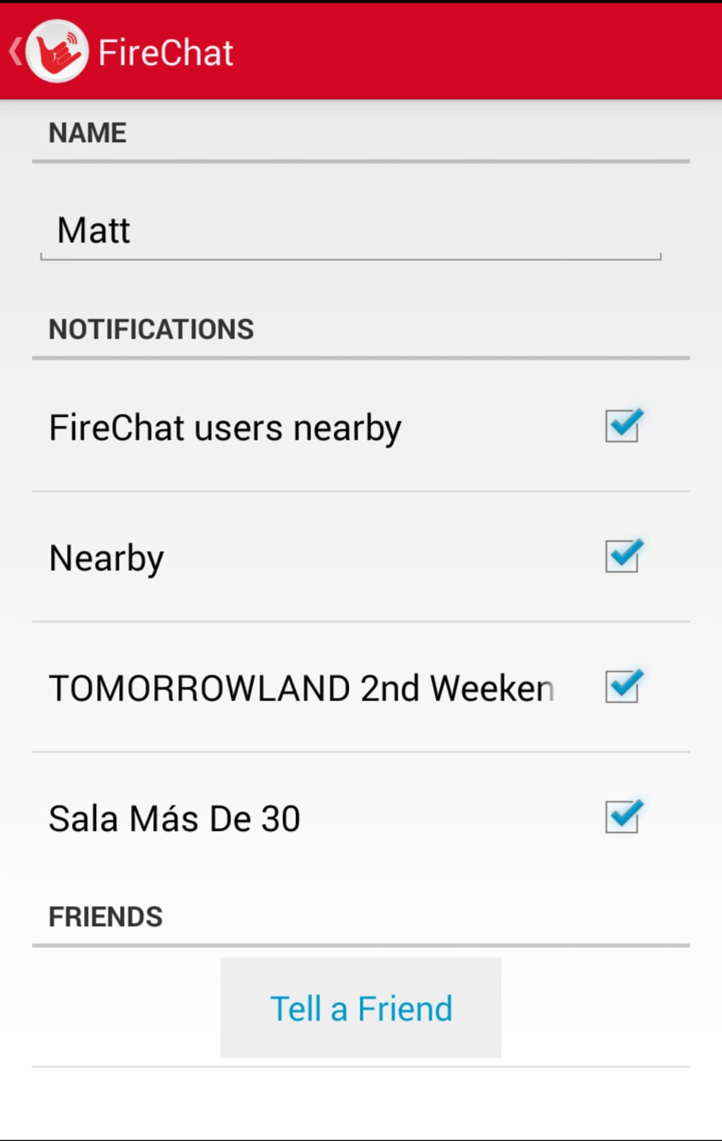 FireChat for iPhone - Download