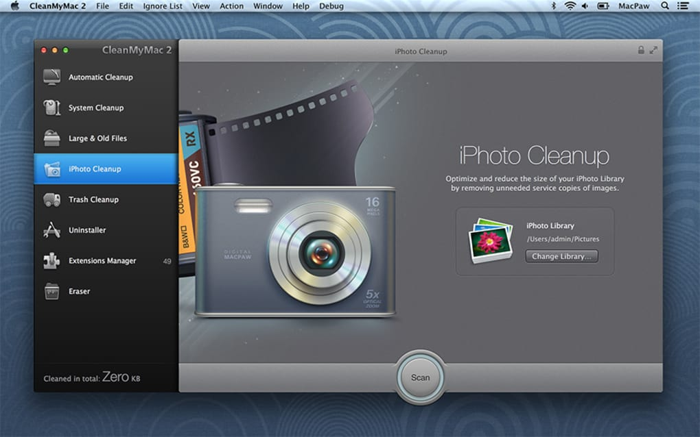clean my mac 10.6.8