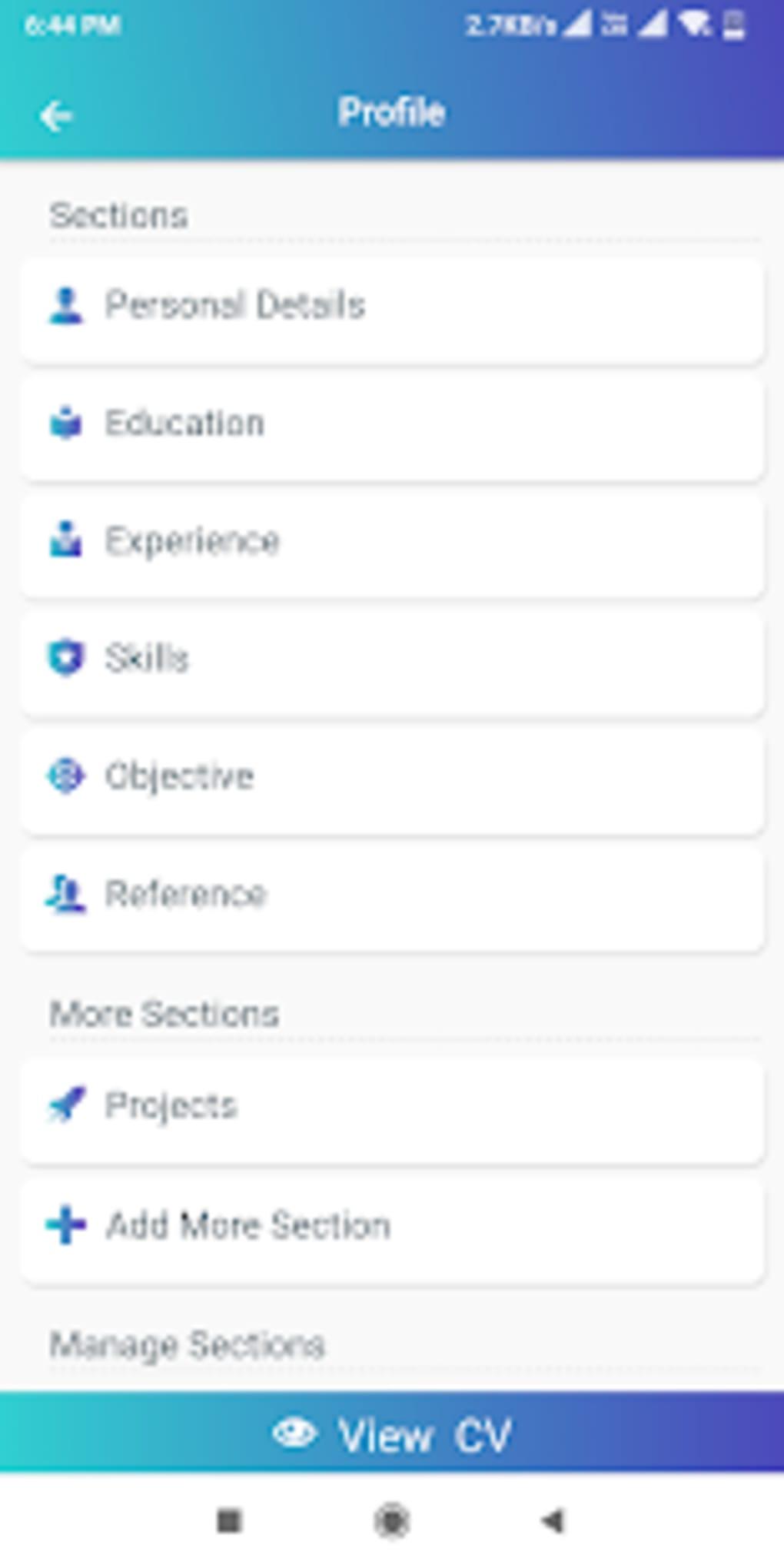 resume builder app free cv maker cv templates 2019  u0644 u0646 u0638 u0627 u0645