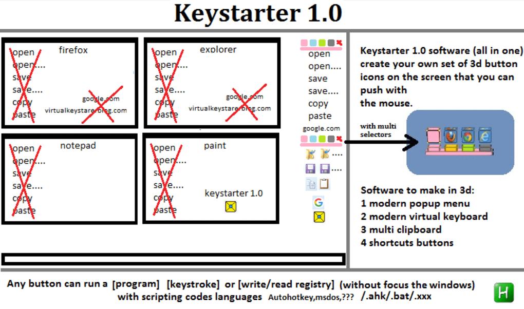 keystarter - Download