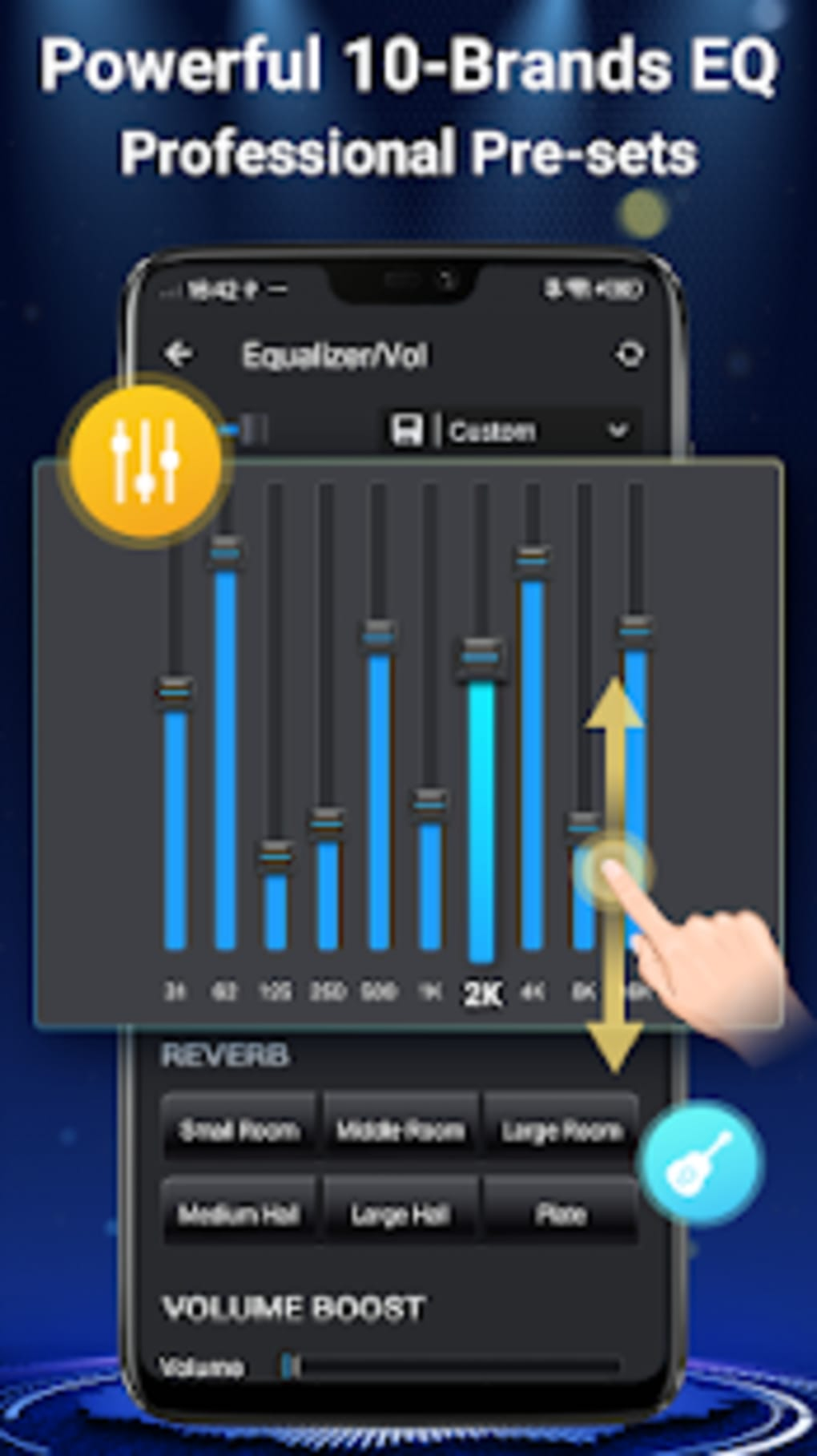 Music Player - 10 Brands Equalizer Audio Player for Android