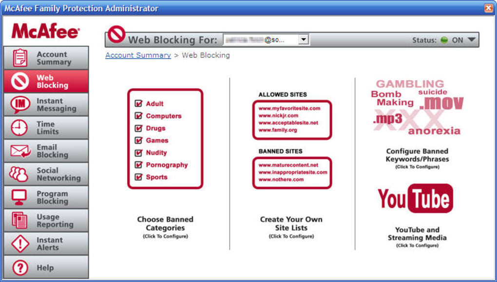 McAfee Family Protection - Download