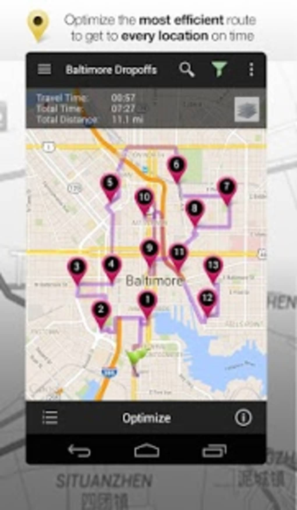 road warrior route planner for android - download