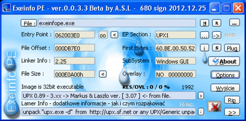 Exeinfo PE - Download